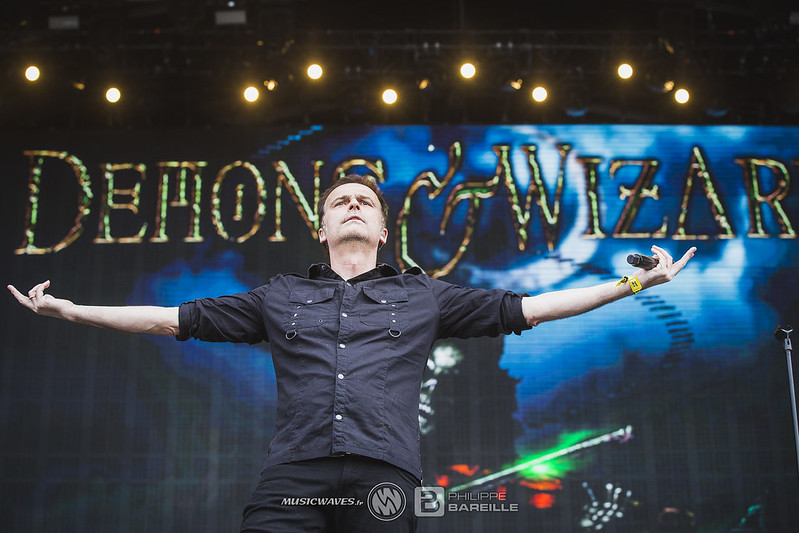 Demons & Wizards @ Hellfest 2019, Clisson | 21/06/2019