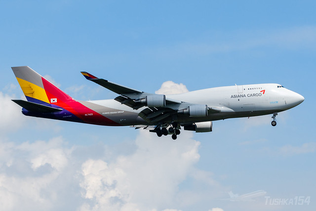 HL7423 | Asiana Airlines | Boeing 747-48E(BDSF) | VIE/LOWW