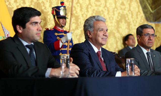 CEREMONIA DE POSESIÓN DEL GABINETE MINISTERIAL. QUITO, 03 DE JULIO DEL 2019.