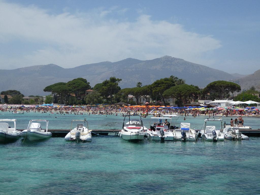 Mondello harbour