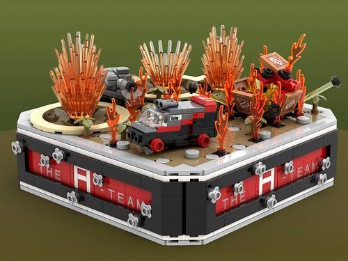 A-Team Micro MOC