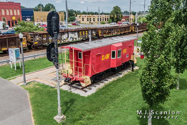 L&N 1092 | Caboose | CSX Chattanooga Subdivision