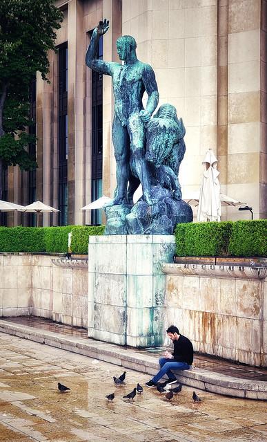 At the Trocadero, Paris
