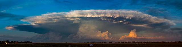061419 - Evening Supercell & Lightning 018 (Pano)
