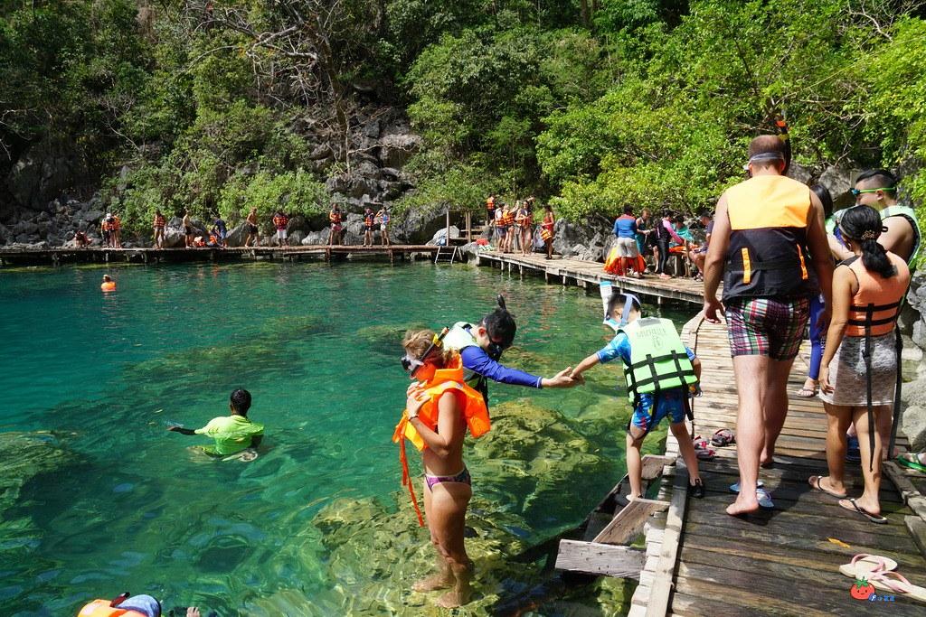 科隆島跳島A路線CORON TOURA 凱央根湖