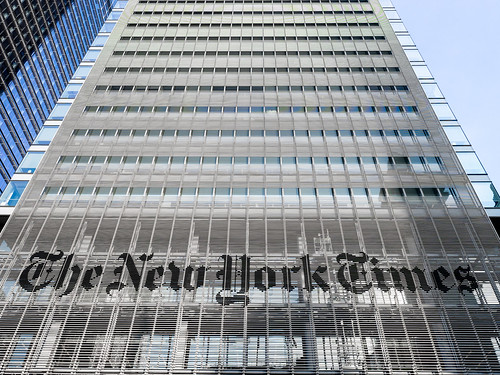 New York Times Building - New York Times Logo