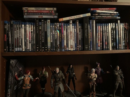 DVD/Blu-Ray Collection - Misc Shelf