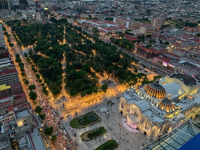 Buenas Artes y Alameda Central