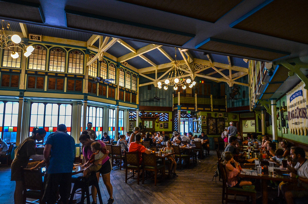 Inside of Skipper Canteen MK
