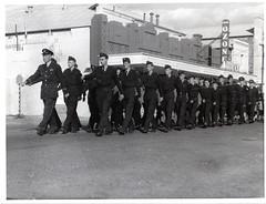 Gawler ATC in Anzac march 1960