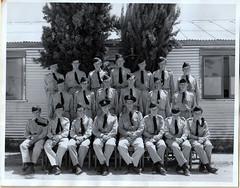 Gawler ATC Junior NCO's 1958 at Mallala - Geoff Graetz top row 3rd from left