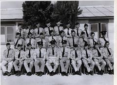 Gawler ATC Senior NCO's 1959 at Mallala - Geoff Greatz at top lhs