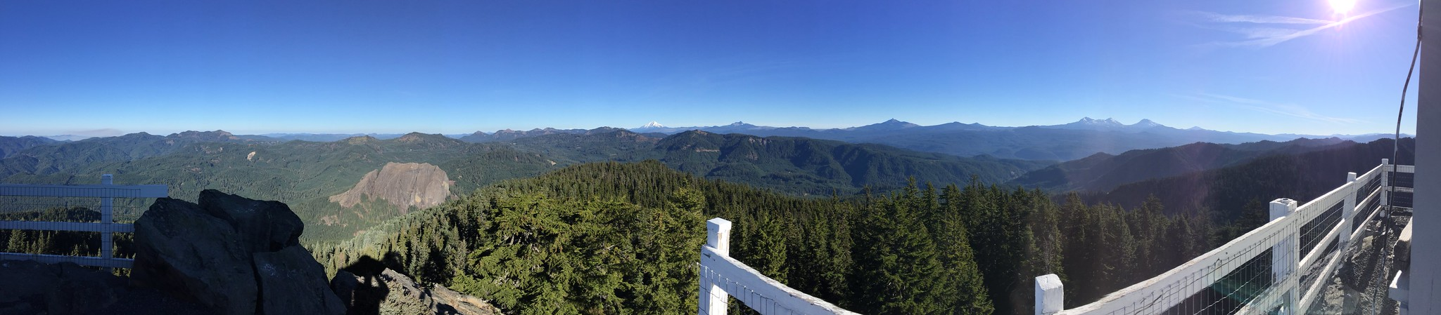 Panoramic from the top of the lookout
