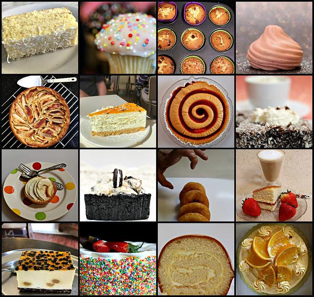 2019 Sydney: Cake and Desserts collage #1