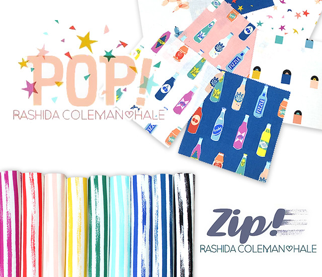 Ruby Star Society Pop & Zip Collection by Rashida Coleman Hale