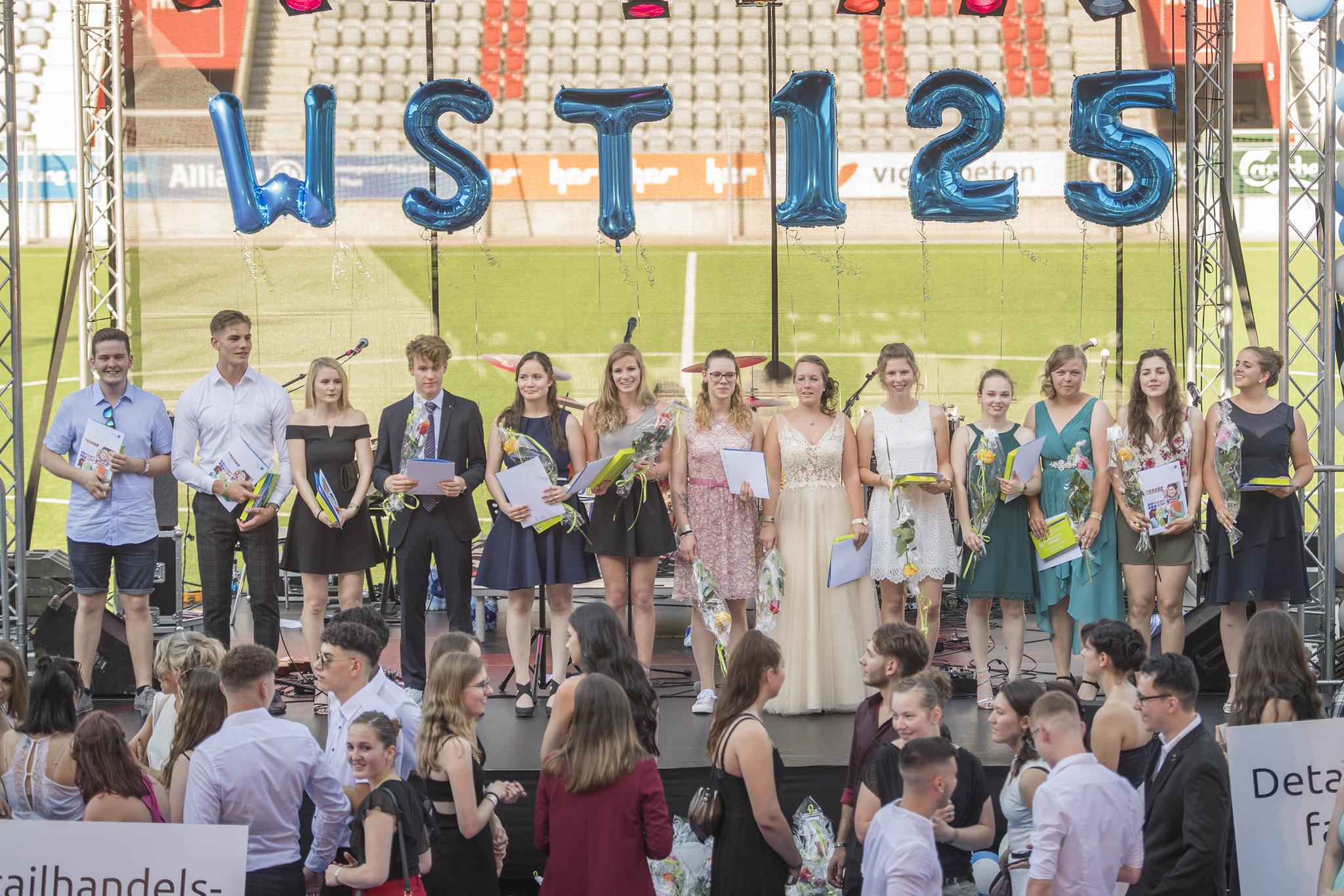 125-Jahr-Feier Wirtschaftsschule Thun