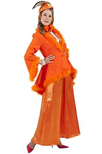 Женский карнавальный костюм Лиса Алиса