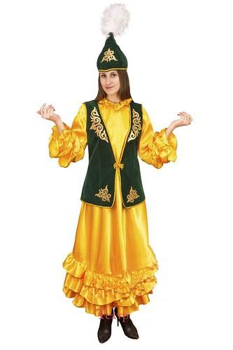 Женский карнавальный костюм Казашка