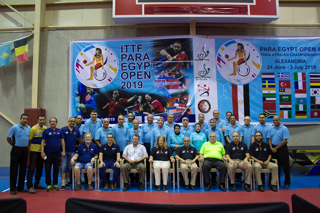 Day 3 - 2019 African Para Table Tennis Championships