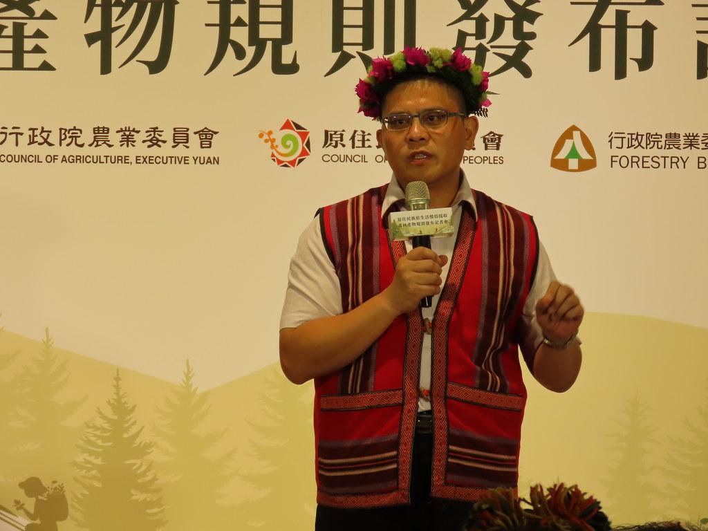 蔡志偉指出,這項法令不但符合國際趨勢,也使得台灣森林保育的意涵,兼顧永續利用、經濟效益以及公共利益。攝影:廖靜蕙