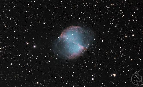 M27 The Dumbbell Nebula [2019.07.04] W.I.P v1