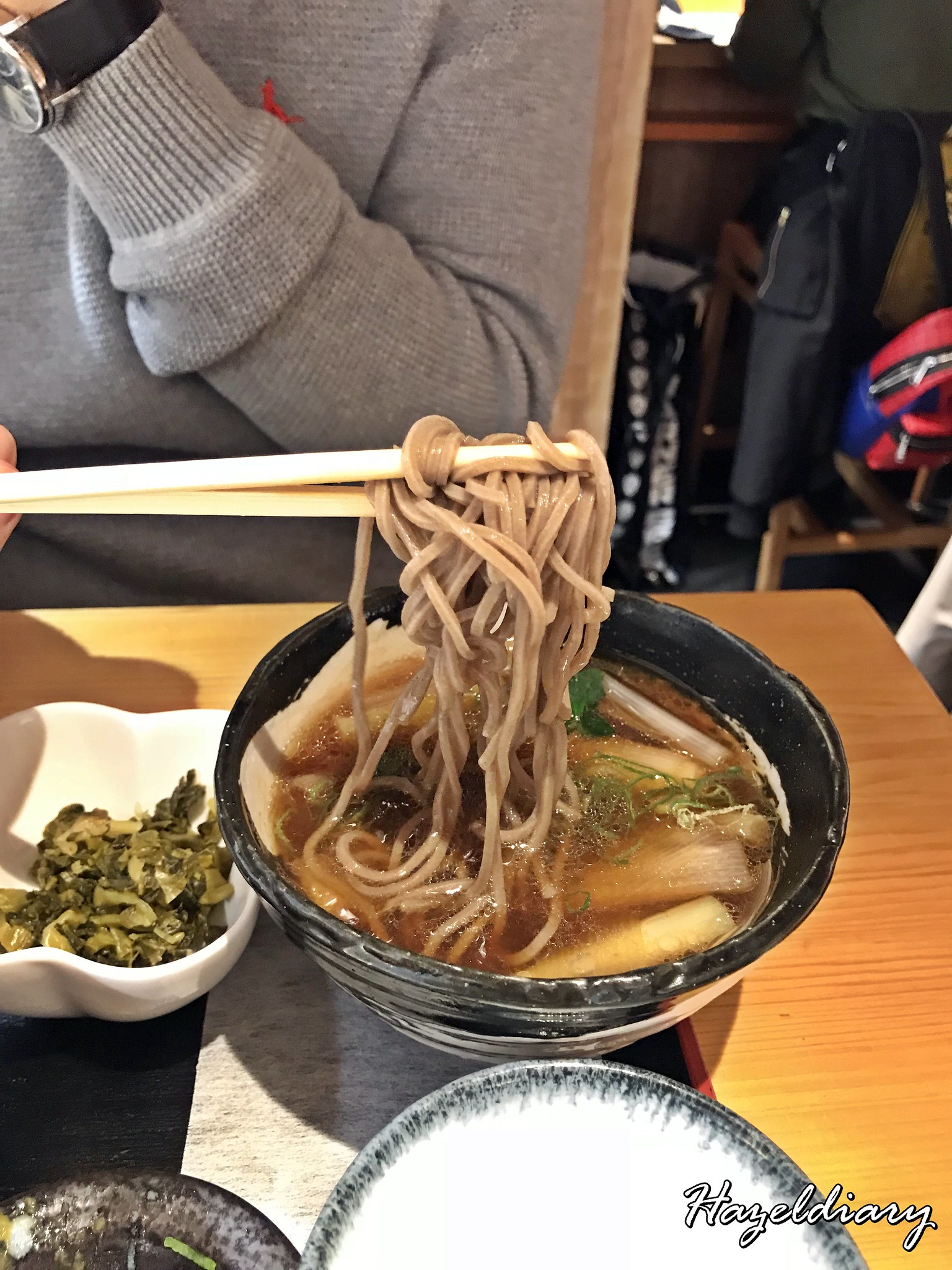 Tamejiro Tokyo Station-Chilled Soba with Duck Dipping Sauce-1