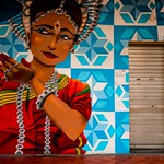 Mural in Little India