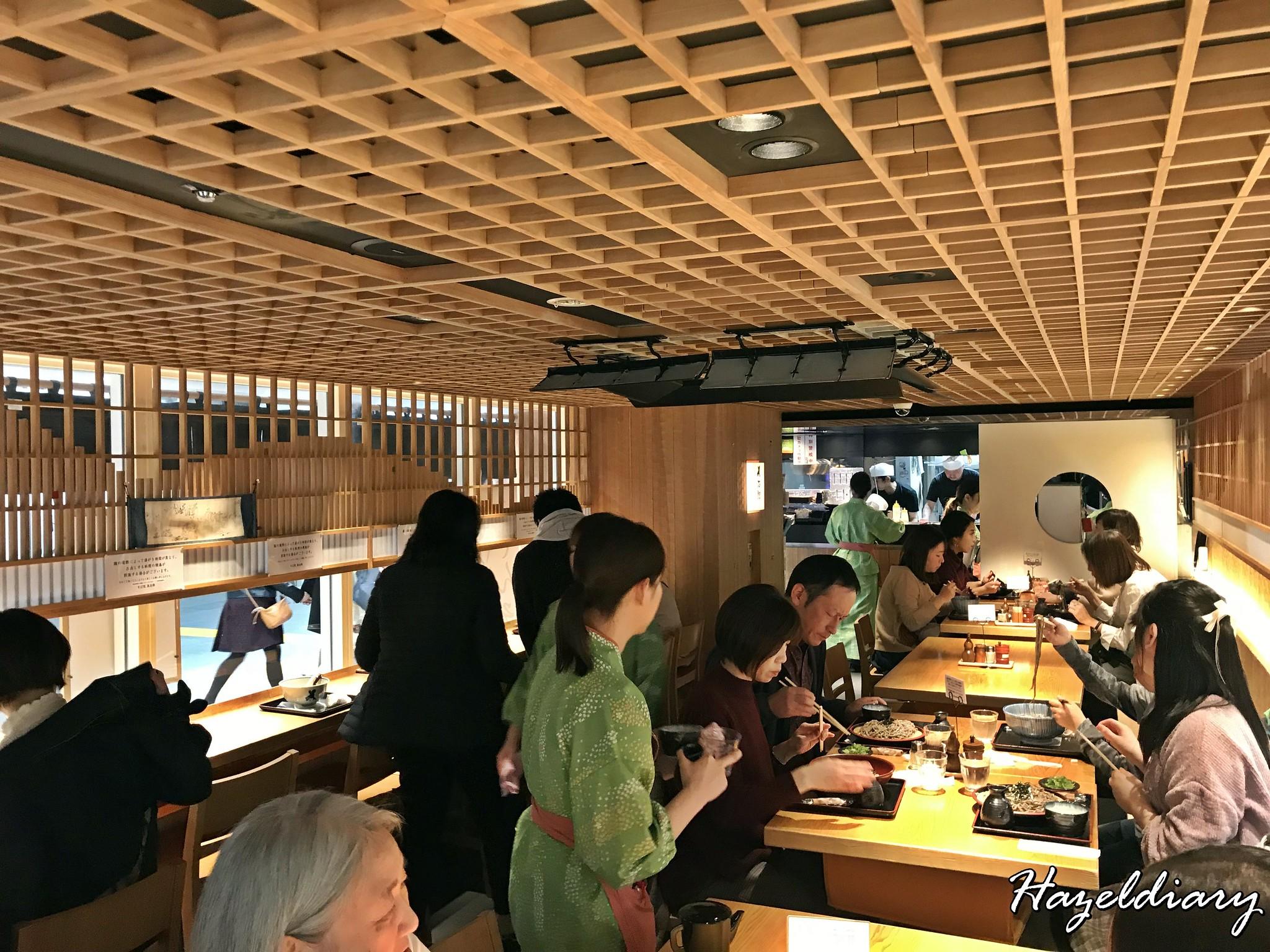 Tamejiro Tokyo Station-Soba Restaurant-1