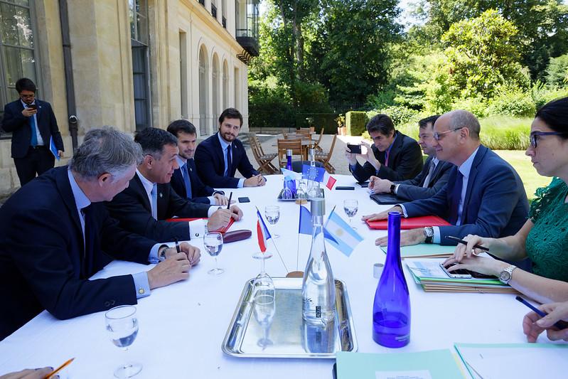 G7 France: réunion conjointe des ministres de l'Éducation et des ministres du Développement