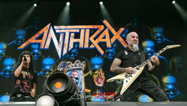ANTHRAX @Hellfest 2019