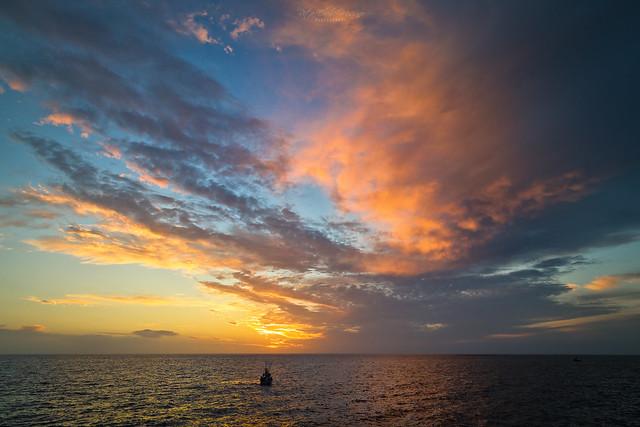 Sunset, Puerto de Tazacorte