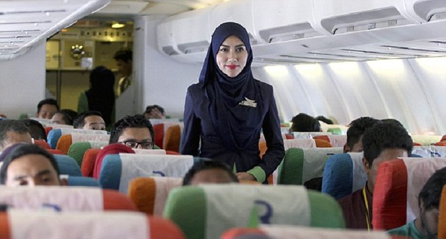 4242 What is the salary of Flight Attendants in the Airlines of Gulf Countries 03