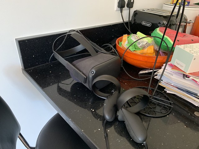 Oculus Quest in situ