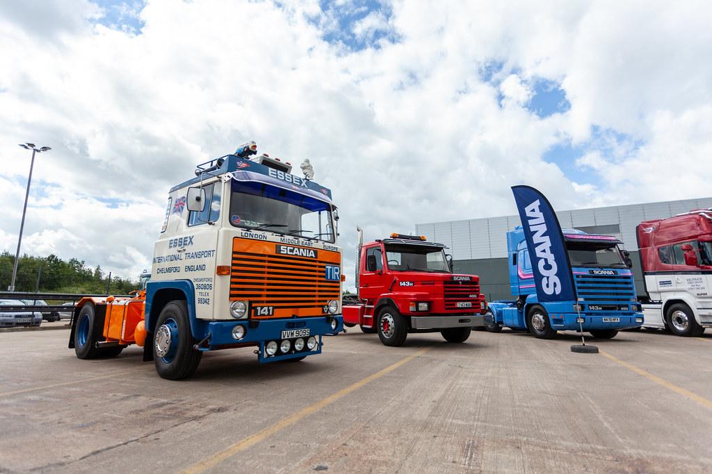 Keltruck's classic Scania trucks