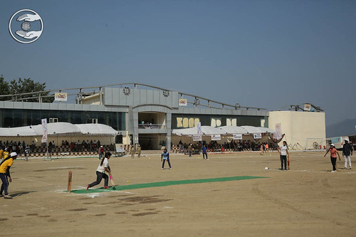 Cricket by Young Devotees