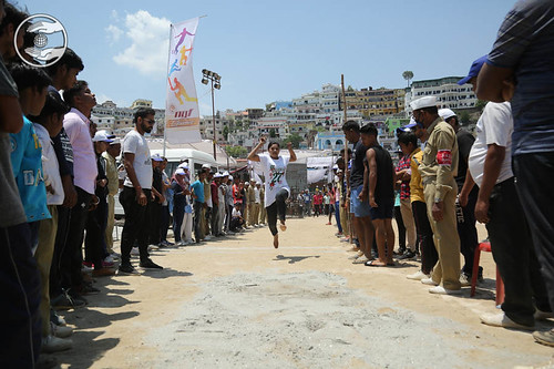 Long Jump by Devotees