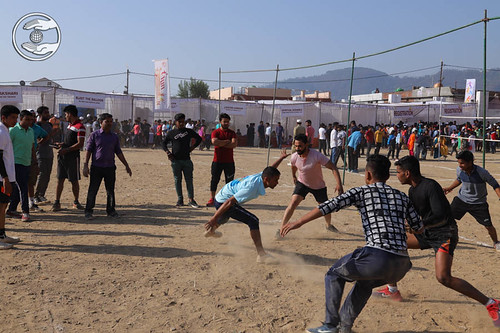 Kabaddi by Young Devotees