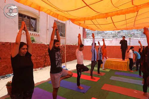 Yoga by Young Devotees