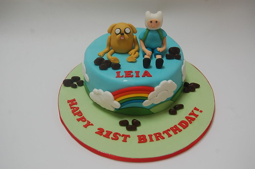 Fine Adventure Time Cake Beautiful Birthday Cakes Funny Birthday Cards Online Alyptdamsfinfo