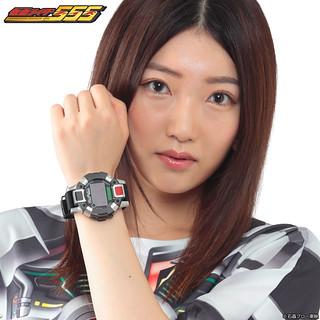 《假面騎士555》「假面騎士Faiz 變身!手錶」!仮面ライダー555 ファイズアクセル 変身!腕時計【Live Action Watch】