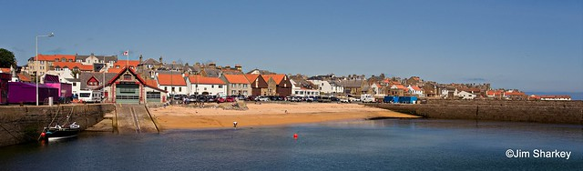 lifeboat station and beach Anstruther Scotland