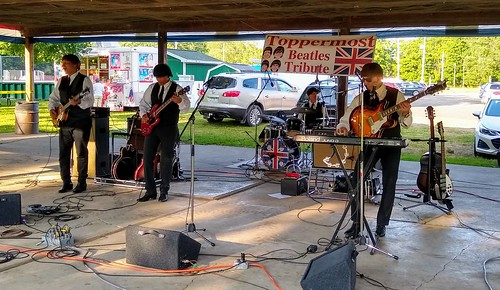 toppermost beatles tributeband corunna michigan mccurdypark