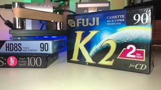 FUJI K2 type II chrome tape 90 min cassette