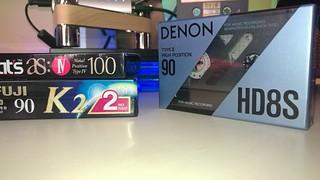 DENON HD8S type II Chrome tape 90 min cassette
