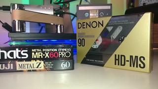 DENON HD-MS type IV metal tape 90 min cassette