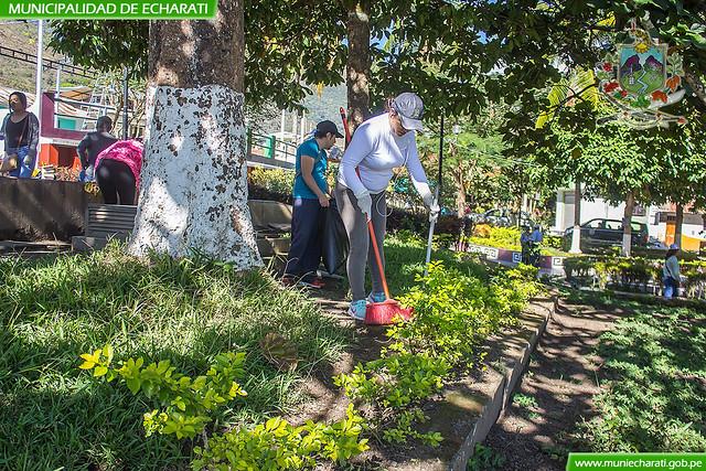 Campaña de recojo de inservibles para evitar el dengue