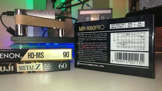 THAT'S MR-X PRO professional type IV metal tape 60 min cassette