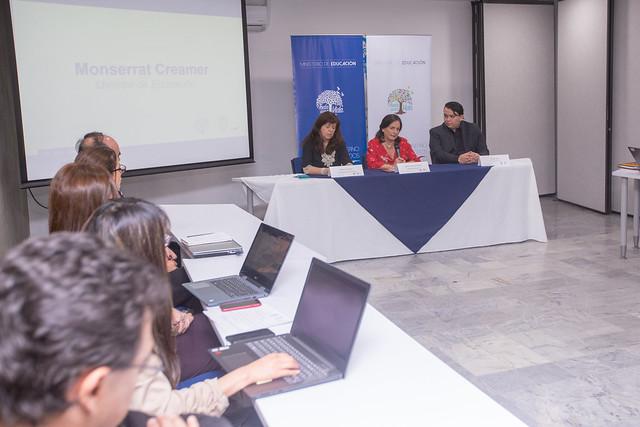 Rueda de prensa - Inicio de gestión de la Ministra Monserrat Creamer - Quito