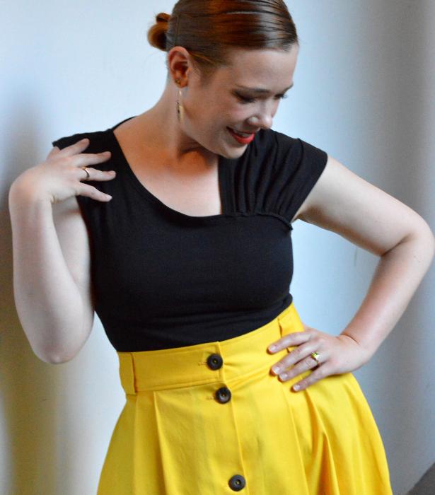 Yellow Skirt 2