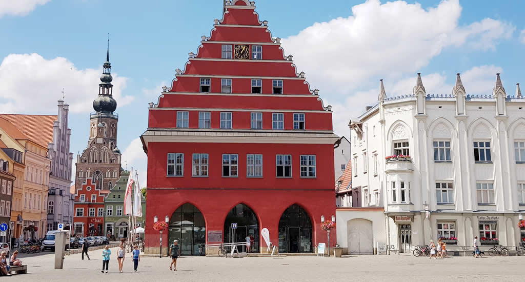 Greifswald, Duitsland. (Foto met dank aan: Greifswald Marketing) | Mooistestedentrips.nl